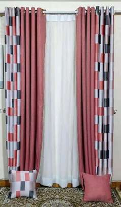 embroidered cheap curtain window curtains and sheers image 4