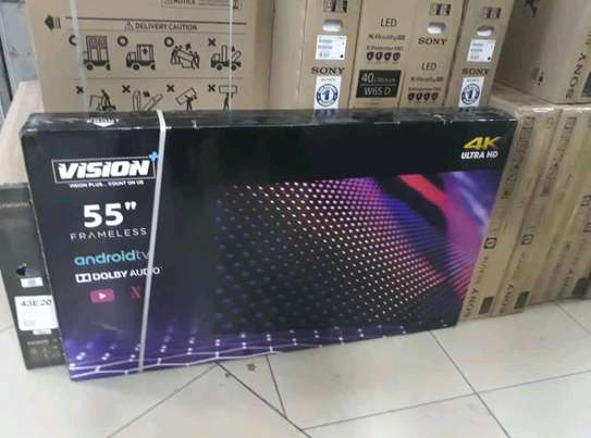 55 inch Vision Smart Android UHD 4K television image 1