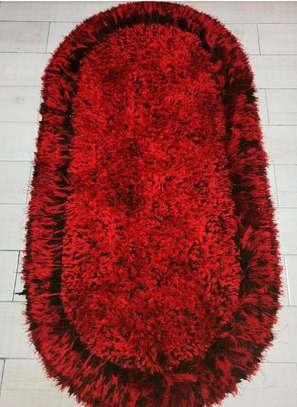 Shaggy Bedside Carpet image 1