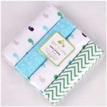 4 Pack Baby Flannels image 3