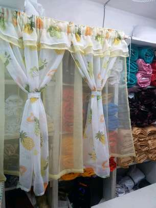 kitchen curtain 200cm width by 120cm height image 5