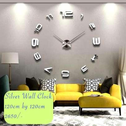 3D diy wall clock image 1
