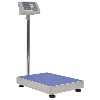 platform Electronic scale 300 kg with rechargeable battery. image 1