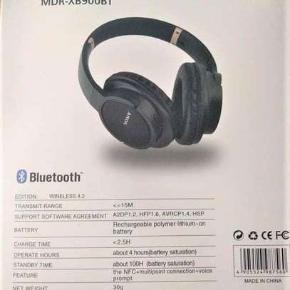 SONY MDR-XB900BT BLUETOOTH HEADPHONES image 2