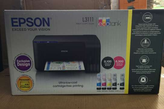Epson L3111 - 3 in 1 multifunctional color printer - New image 1