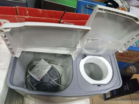 Fresh jumbo 9kg wash and drain  washing machine image 1