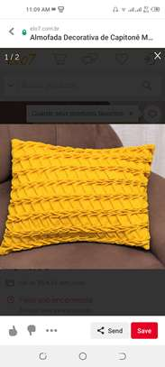 Patterned throw pillows image 6