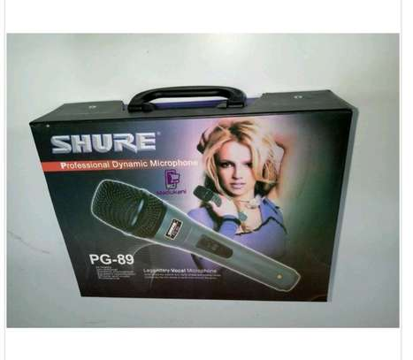 Dynamic Shure microphone image 1