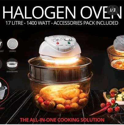All in one halogen oven image 1
