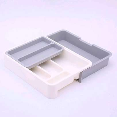 Expandable Cutlery tray image 2