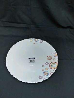 Luminar plates/6pc luminar plate/Dinner plate/Flowered plate image 4