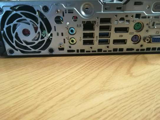 Hp elitedesk 800 g1 - ultra-slim - core i5  - 4 gb - 500 gb image 4