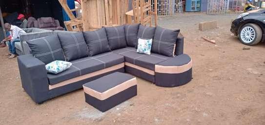 Five Seater L- Seat Sofa image 1