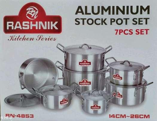 Rashnik 7pcs Aluminium stock pot image 1