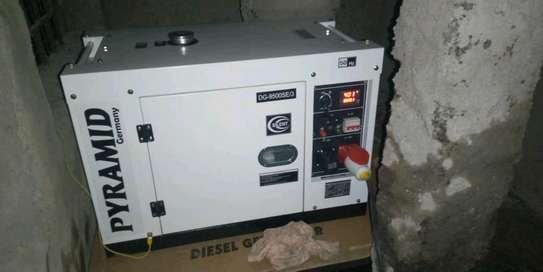 8.5kva back up silent power generator