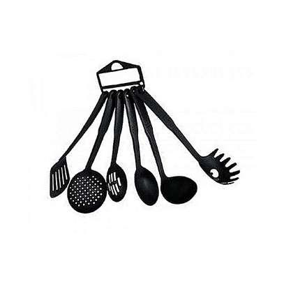 Generic 6 Pieces - Heat-Resistant Nonstick Spoons- Spatula Turner Scoop Kitchen Cooking Utensil Tools Set image 1