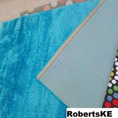 carpet turquoise blue soft image 1