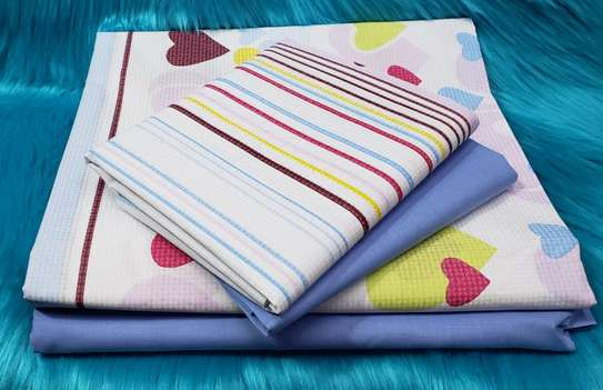 Classy Cotton Bed sheets(6pcs) image 10