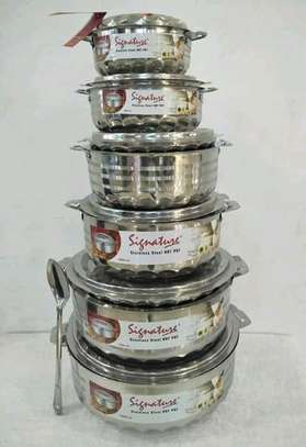 Signature stainless hotpots image 1