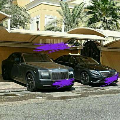 Rolls Royce and Mercedes S550 Shades