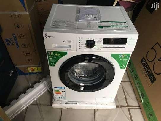 Synix 7kg front Load full Automatic washing machine image 1