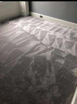 Charcoal grey wall to wall carpets image 4
