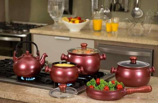 Ceraflame Ceramic Cookware Set image 1