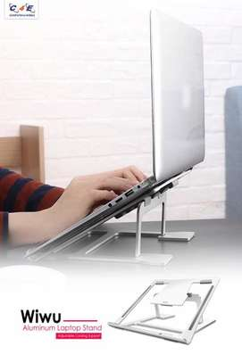 MacBook Air Pro WIWU S100 Lohas Stand Gray (S100) Laptop Stand image 4