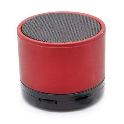 Mini Bluetooth Wireless Stereo Speakers FM, Memory Card, Bluetooth, USB - Red.