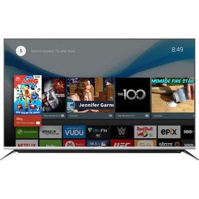 """SYNIX 55"""" FHD SMART ANDROID TV,NETFLIX,YOUTUBE,ALL APPS-55T730F-BLACK image 2"""