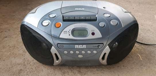AIWA AM FM CD CASSETTE PLAYER. image 1