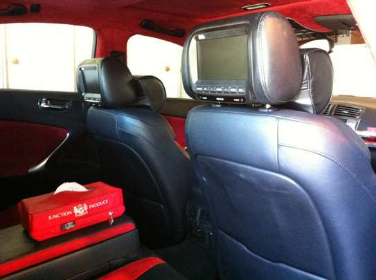 7 Inch TFT LCD Display Digital Screen Car Headrest Monitor. image 1