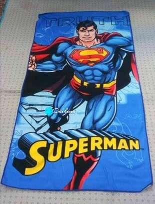 superman kids bathing towel image 1