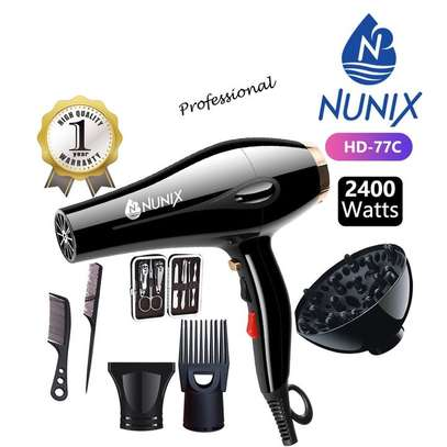 Nunix HD-77C Blow Dry Machine - 2400W - Black image 3