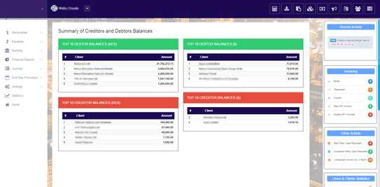 Online fully integrated Accounting, Payroll, Billing and HRM Software image 3