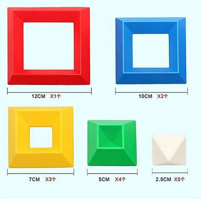Kids/Children Deluxe Set 30 Pc Building Block Set Educational Toy image 7
