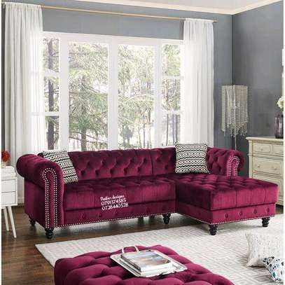 Modern four seater sofas/L shaped sofa image 1