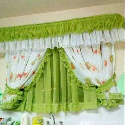 Designed Kitchen Curtains image 6