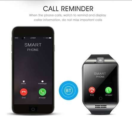 Q18 And Y1- Smart Watch Phone With Mpesa image 3