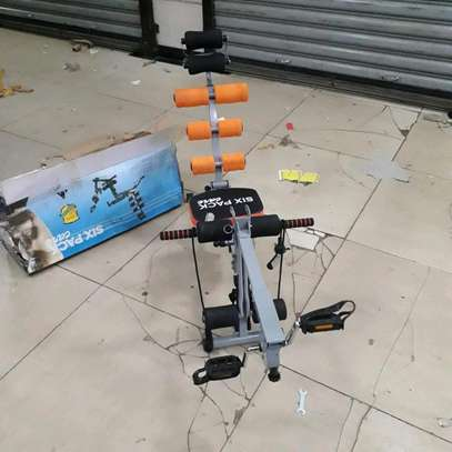 Six pack care/home gym machine/six pack with pedal image 1