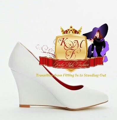 Court Wedge Shoes From UK. image 1