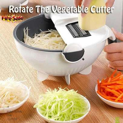 Smart Multifunctional Drainer And Grater,comes with several Exchanging Blades image 2