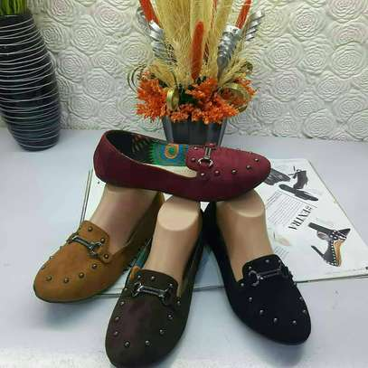 Ladies Suede Loafers image 7