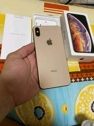 Apple Iphone Xs Max : Gold 512 Gb & Iwatch Series 3 ( gps and cellular version ) image 3