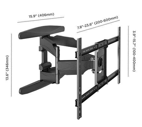 """Full Motion Articulating TV Wall Mount for 40"""" to 70 Inch Flat Screen LED LCD TVs up to 100lbs P6 image 5"""