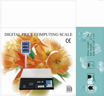Electronic Price Computing Scale image 3