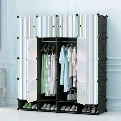 Executive Portable 3 Column High Density Plastic Wardrobes image 3