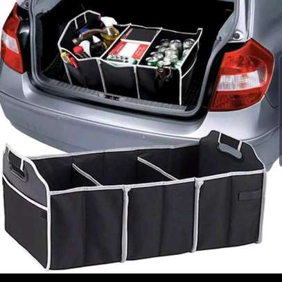 Car boot organizer