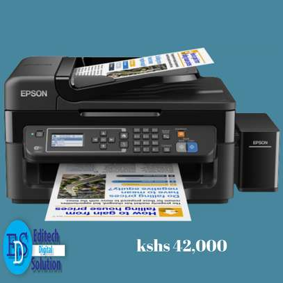Epson L565 Wi-Fi All-in-One Ink Tank Printer image 1