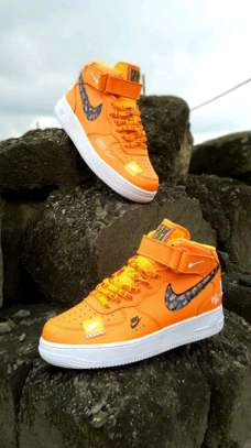 Just Do It/Nike Airforce shoes